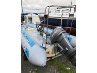 AVON RIB RHIB BOAT, speedboat