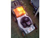 Flymo 145 cc petrol lawnmower good condition