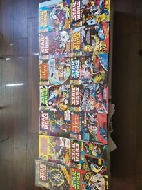 Star Wars Weekly Comic Books (Issues 1-14 from 1978)