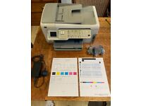 Hp photo smart all in one, printer, fax, copier, scanner.