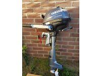 2.5Hp Yamaha Four Stroke Outboard Motor