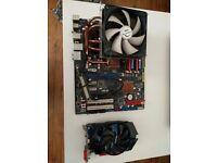 Asus P5Q Pro - Intel Q6600 - 8GB DDR2 - GTX 650 TI 1GB