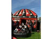 Disco Dome bouncy castle hire