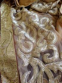 Ladies party saree/dress material
