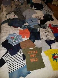 Baby boys clothes 3-6m