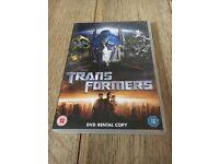 Transformers DVD Rental Copy