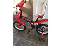 Boys bike 4-5yrs nearly new