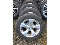 "Genuine 16"" BMW F30 alloys"