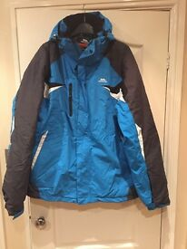 Gents Trespass Ski Jacket in blue