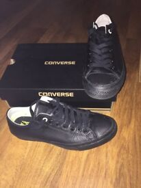 Unisex Adult Size 9 Black Chuck Taylor All Star Converse Trainers