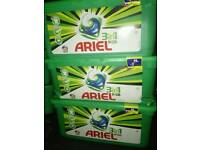 Ariel 2 in 1 tubs of 30 £4 ono