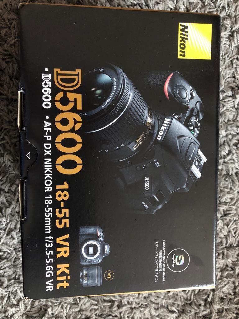 Nikon D5600 18 55 Vr Kit In Aldershot Hampshire Gumtree 55mm