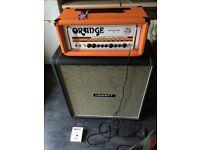 Hiwatt guitar amplifier cabinet 4x10