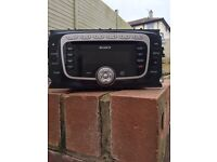 Ford Focus Sony car stereo take out of a tatinum