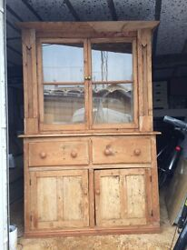 Rustic pine dresser