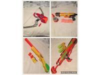 Nerf gun 7 piece bundle