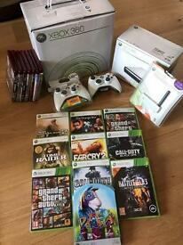 Ultimate Xbox 360 Package! Inc. Console, 10 Games, 3 Controllers & 8 x HD-DVD Discs/Player!