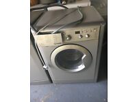 Less than 1 yr old, £150, Indesit Washer/Dryer, IWDD71435, 7kg, 1400 RPM, B Energy rating.