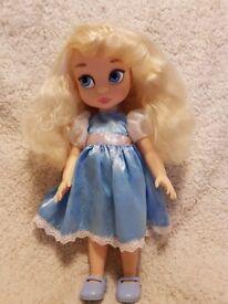 Genuine DISNEY FROZEN Princess ELSA Character DOLL 14 inch
