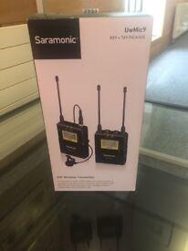 Saramonic UwMic9 Wireless Receiver and Single Transmitter Kit