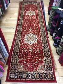 Pure Persian runners 3 meter or 10 feet and 2.20 meter about 8 feet brand new rugs