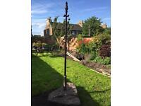 3x Victorian Clothes cast iron Poles (£100 each)