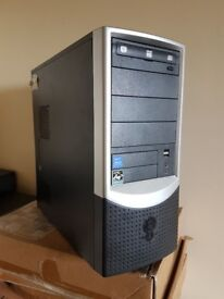 Windows 10 PC System or tower only, AMD Dual Core 4800+, ATI Radeon HDMI, 4GB, 500GB HDD, Office