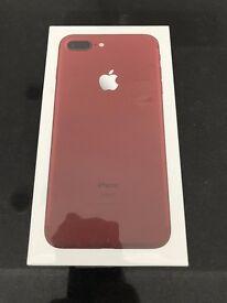 Apple iPhone 7 Plus Red 256GB Unlocked - Brand New Still Sealed