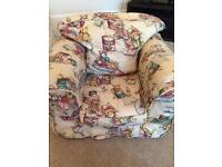 Children's traditional armchair