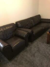 Double sofa and Single sofa