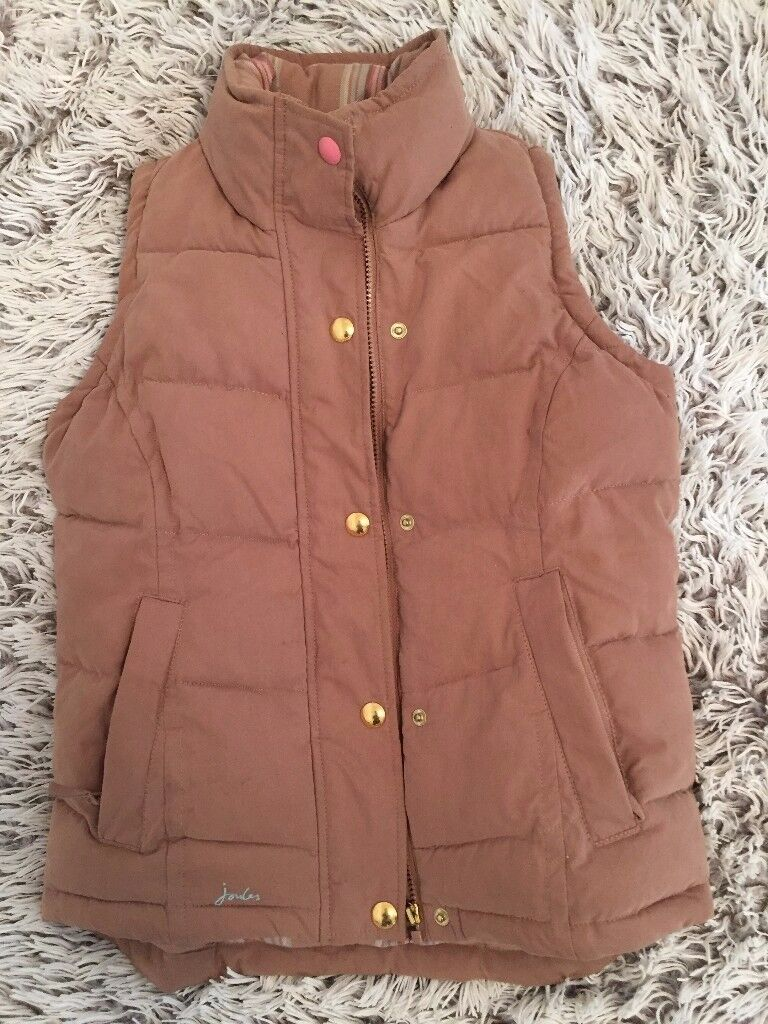 JOULES GILET GILLET SIZE 8 AS NEW