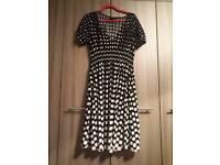 Next polka dot dress size 14