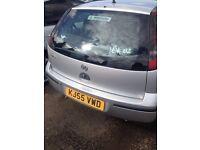 Vauxhall Corsa 1.0 L, reg 55 only @ 299 pounds