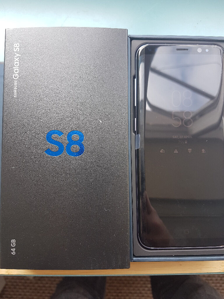 Samsung Galaxy S8 - Unlocked 64gb