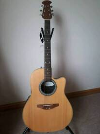 OVATION ELECTRO ACOUSTIC GUITAR PRICE DROP