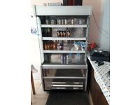 COMMERCIAL OPEN DISPLAY FRIDGE, FREE