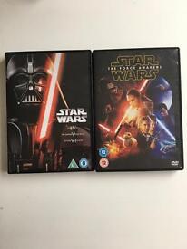Star Wars episodes 4,5,6 &7
