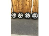 Steel Winter Wheels and tyres, 17 inch