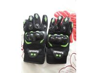 Kawasaki motocross gloves brand new