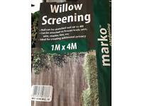 Willow Screening, Brand new.