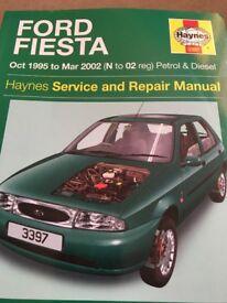 Haynes Ford Fiesta manual