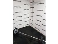 7ft olympic bar + 70kg technogym weight plates