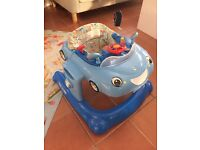 Mothercare 3 in 1 Car Walker - Blue