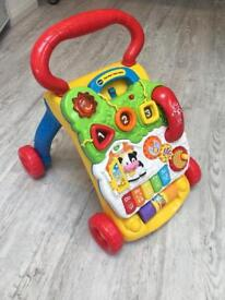 Vtech First Steps Baby Walker - hardly used