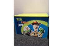 Toy story toy chest wooden