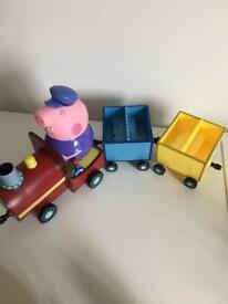 Peppa Pig Playground and Locomotive