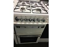 FLAVEL 50CM ALL GAS COOKER IN WHITE