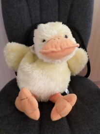 Large soft toy duck