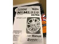 Nemesis Ultra Caravan Wheel Lock As New