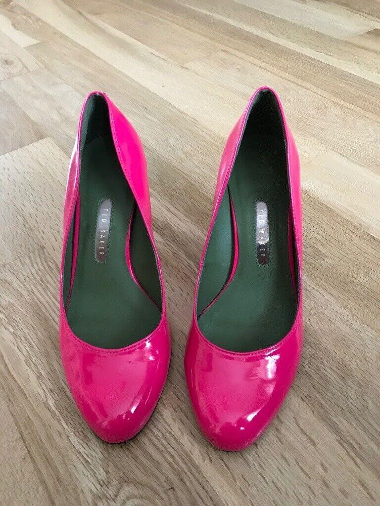 Ladies Ted Baker shocking pink shoes | in Sunderland, Tyne and Wear | Gumtree